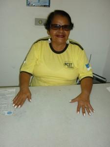 Presidente do Sindicato das Costurueiras de Pernambuco