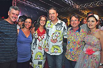 Governador Eduardo Campos na abertura do carnaval do Recife