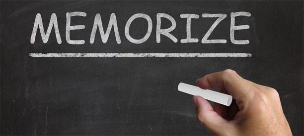 Três técnicas práticas de memorização para concursos
