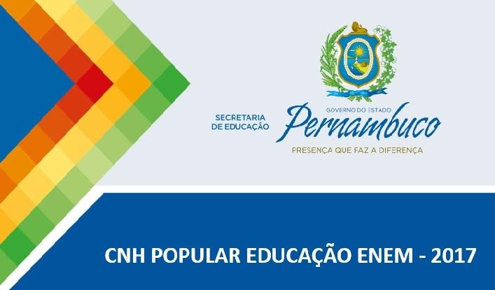CNH Popular Enem 2017 começa a inscrever alunos